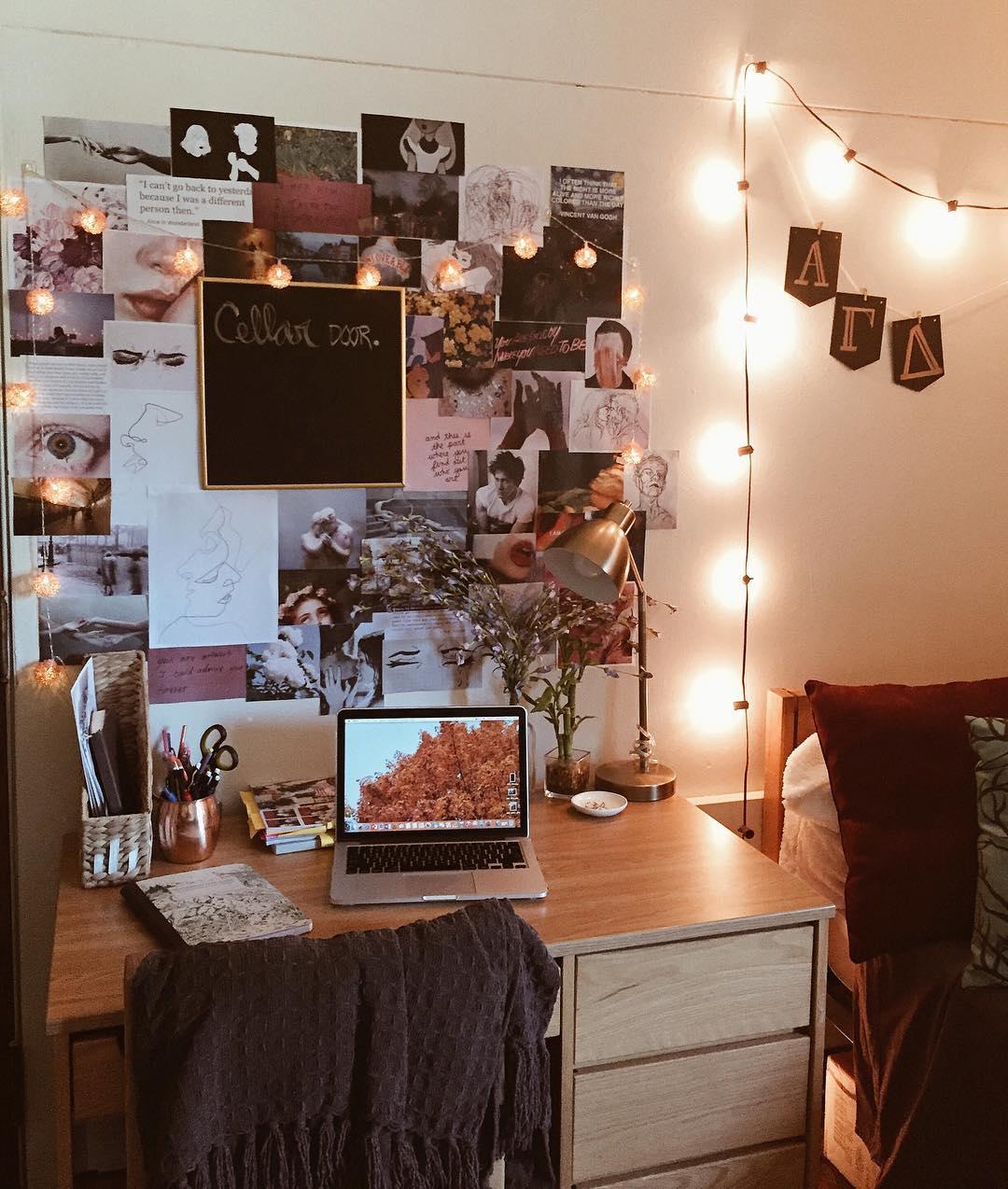 Как украсить комнату в общежитии фото_13