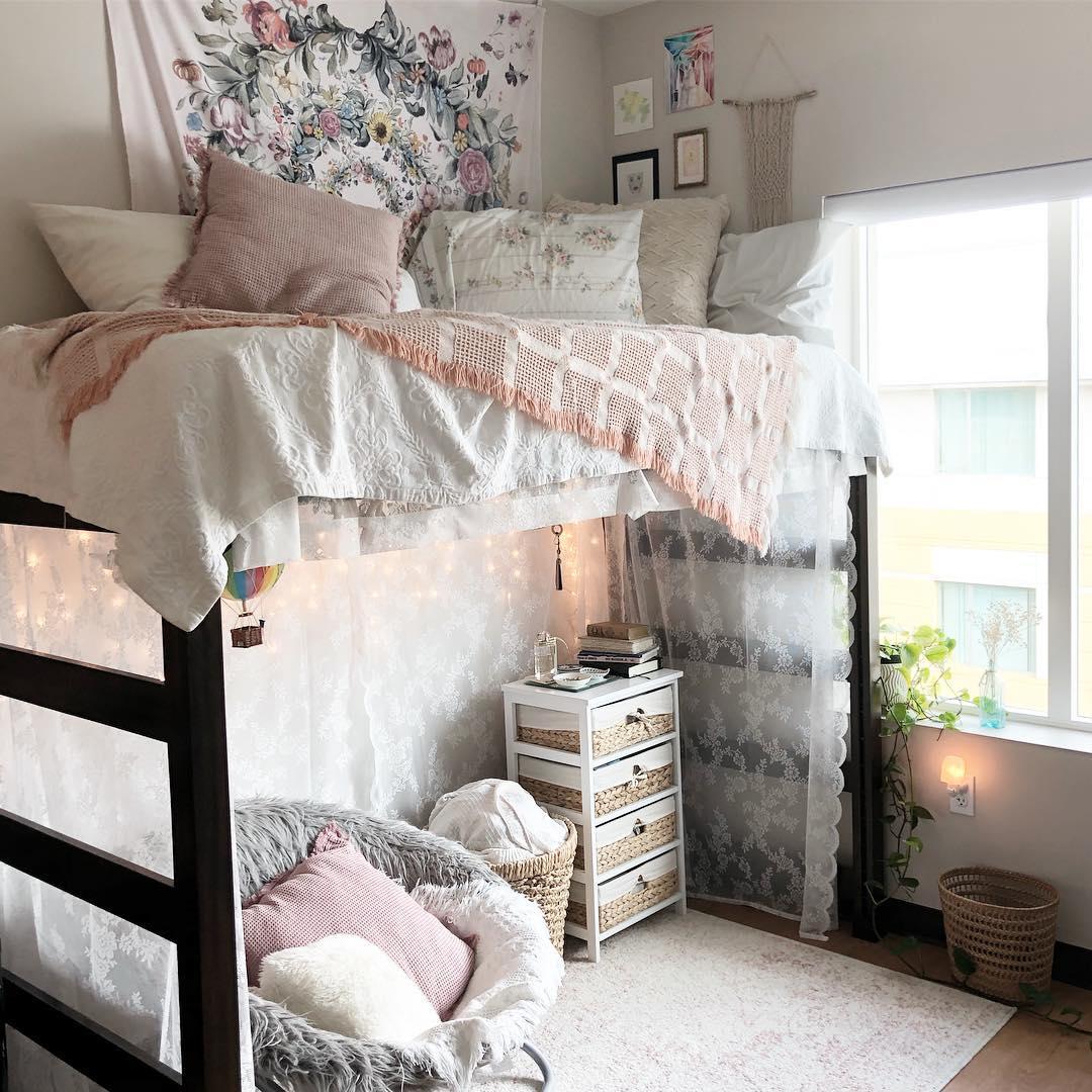 Как украсить комнату в общежитии фото_10