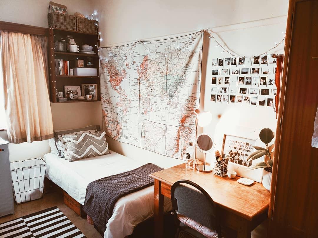 Как украсить комнату в общежитии фото_6