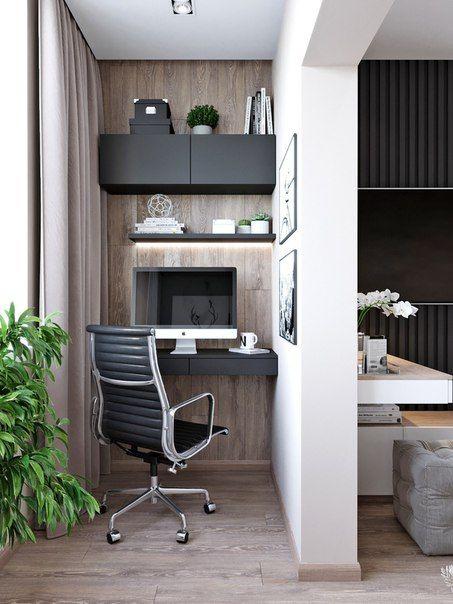 как сделать маленький балкон однушки рабочим местом фото_7