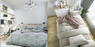 как сделать маленькую спальню уютной и красивой фото идеи